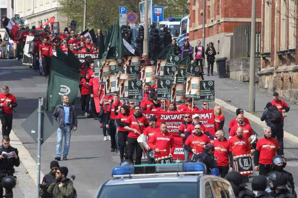 Widerstand in Plauen gegen Neonazi-Demonstration