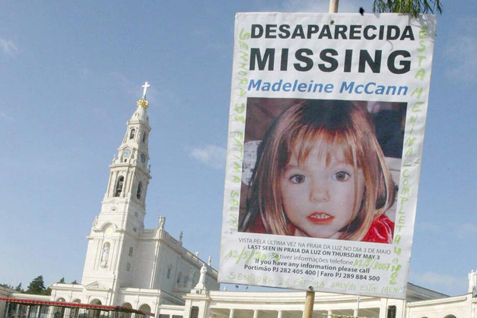 Maddie McCann wird seit über 12 Jahren vermisst (Archivbild).