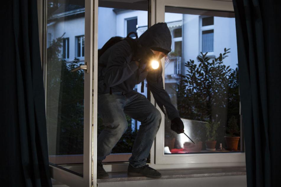 Die Diebe verschaffen sich meistens über Fenster oder Türen den Zutritt in die Häuser. (Symbolbild)