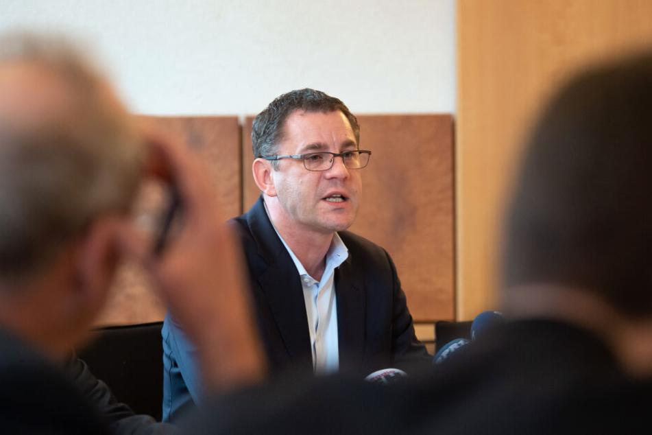 Sven Gerich gab erst im Januar bekannt, dass er nicht mehr für die Wahl des OB kandidieren wird.