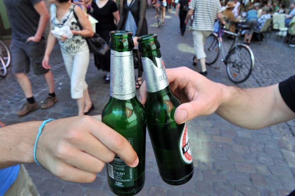 In der Duisburger Innenstadt durfte ein Jahr lang kein Alkohol mehr getrunken werden.