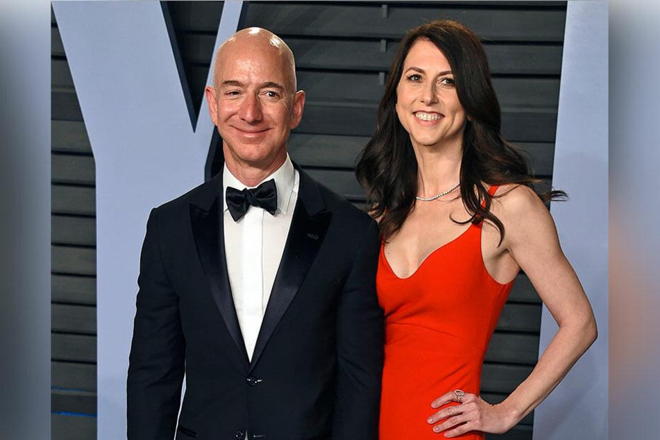 MacKenzie und Jeff Bezos bei der Vanity Fair Oscar Party in Beverly Hills (März 2018)