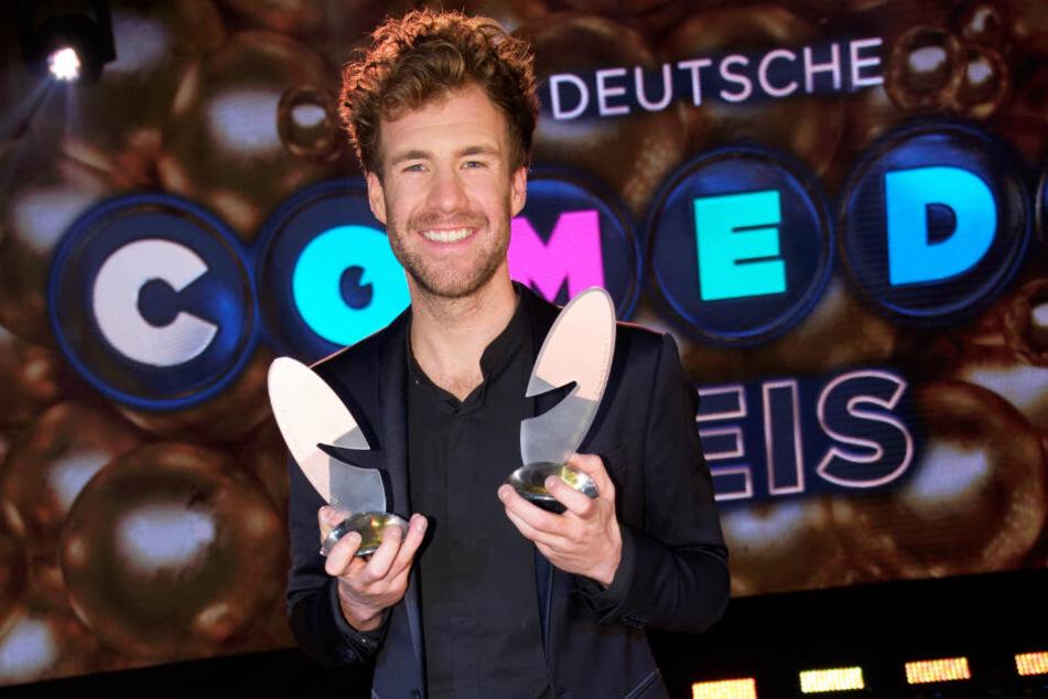 Luke Mockridge (30) hat bei der Comedypreis-Verleihung die wichtigste Kategorie gewonnen.