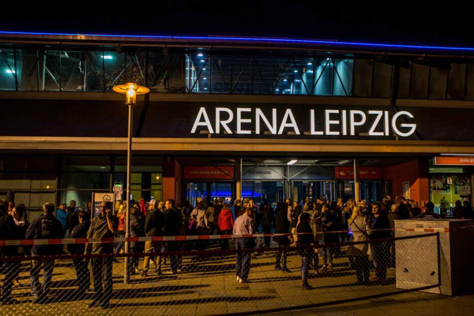In der Arena zu Leipzig findet das Konzert statt.