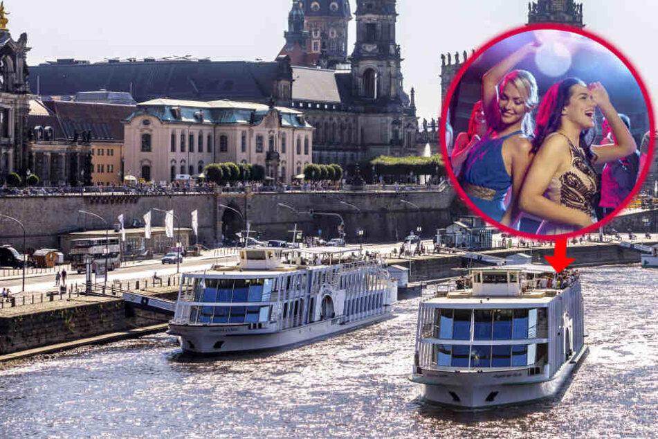 Für Erwachsene: Hier steigt bald eine Ü30-Party auf der Elbe