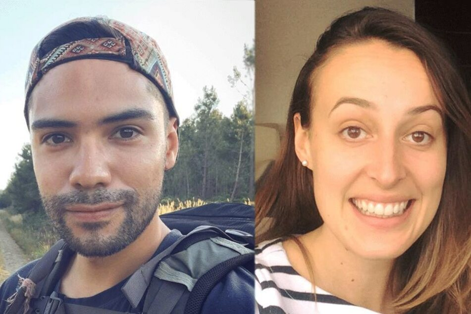 Drew McEwan (31) und Georgina Wilkinson auf Selfies.