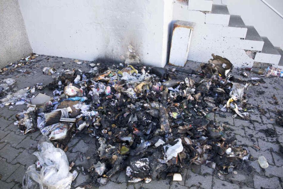 Bereits in der Nacht zu Freitag brannte es in der Bruno-Dost-Straße.