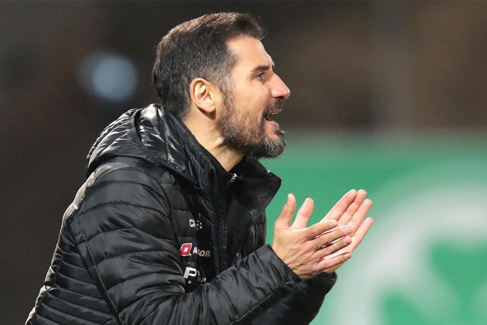 Cristian Fiel muss sein Team wohl gegen Union Berlin erneut umbauen.