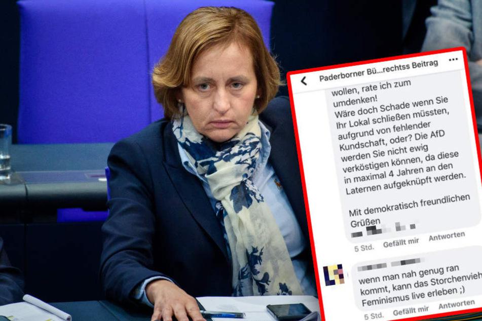 """AfD spricht nach Drohungen gegen Gastwirt von """"Terrorakt"""""""
