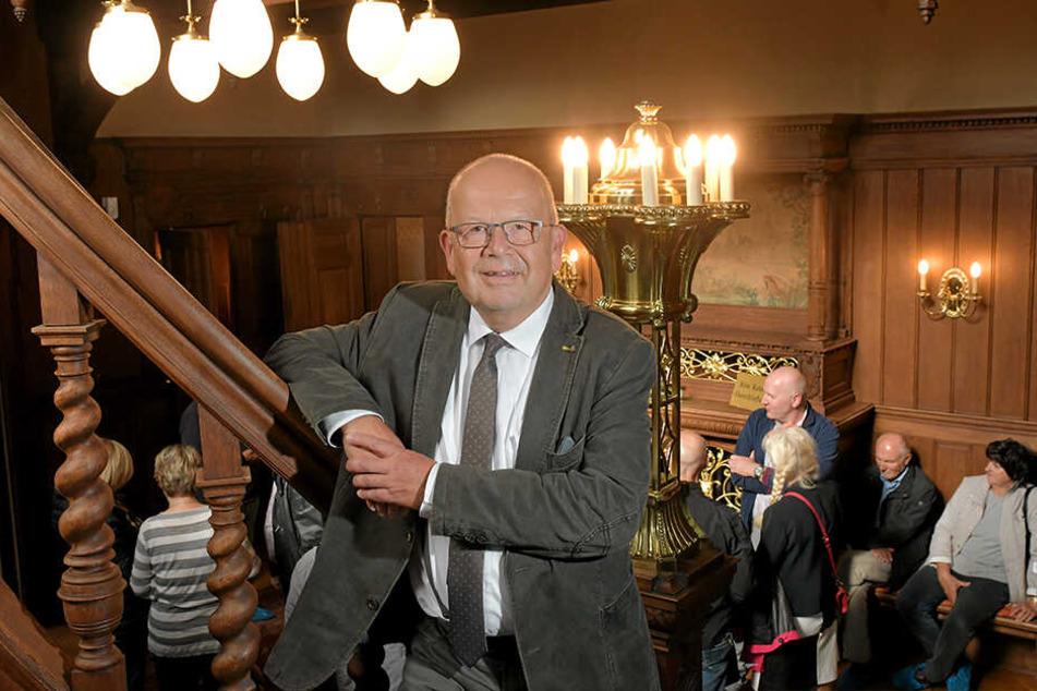 28 Jahre lang war Frank Neubert der Chef im Standesamt. Seit April ist er im Ruhestand.