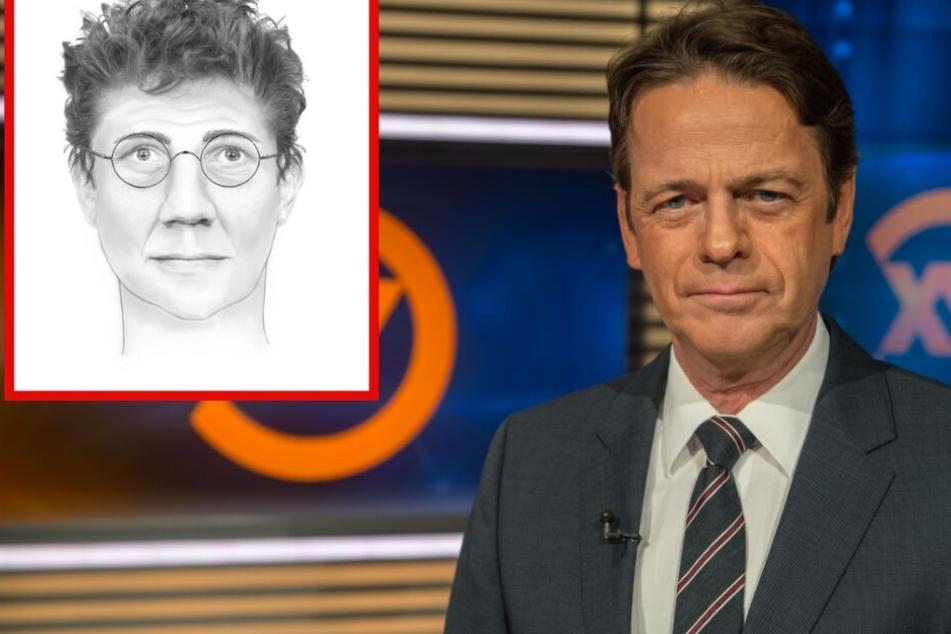 """Fotomontage: In der ZDF-Sendung """"Aktenzeichen XY...ungelöst"""" mit Rudi Cerne (Re.) wurde der Raubüberfall auf den 96-Jährigen thematisiert."""