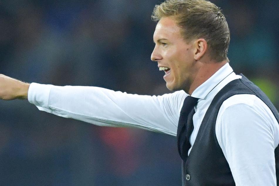 Der jüngste Trainer der Championsleague-Geschichte: Julian Nagelsmann (31) im Feiertags-Outfit.