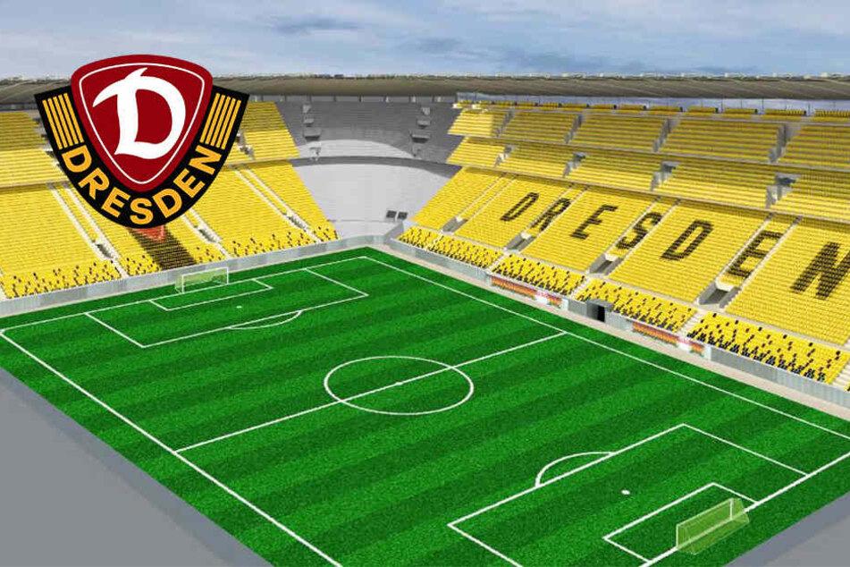 Exklusiv! Wird das DDV-Stadion der steilste Fußball-Tempel Europas?
