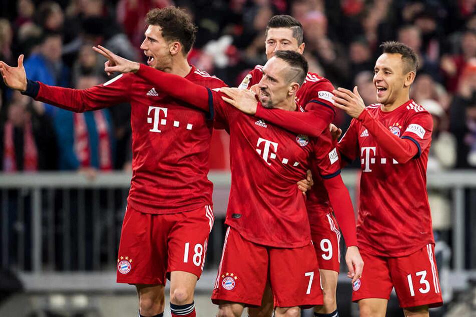 Der FC Bayern München konnte endlich mal wieder einen ungefährdeten Erfolg feiern.
