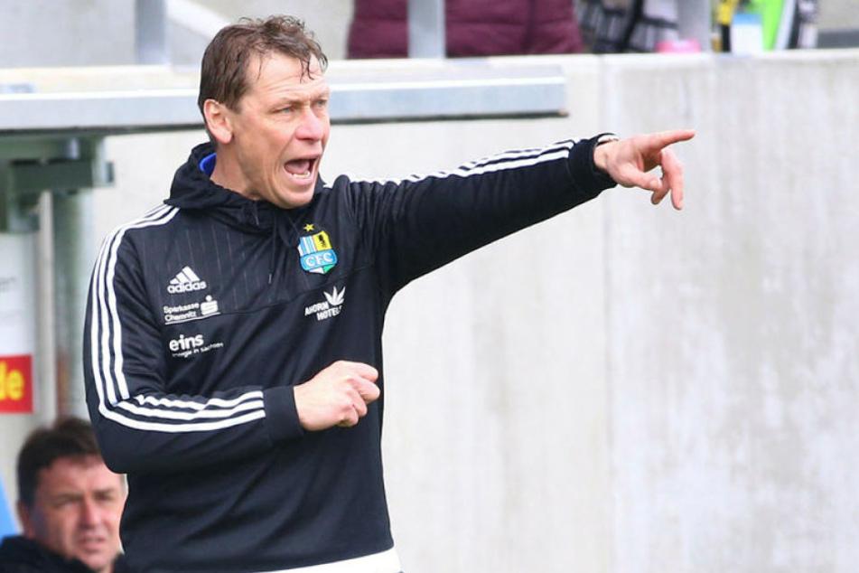 Sven Köhler ist zwar nicht mehr Trainer beim CFC, aber dennoch ein Gewinner des Jahres.