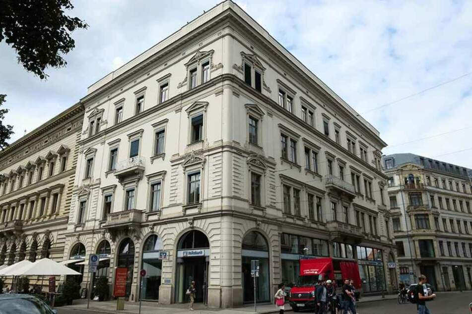 Die Volksbank Leipzig bemerkte den Betrug während bankinterner Kontrollen.