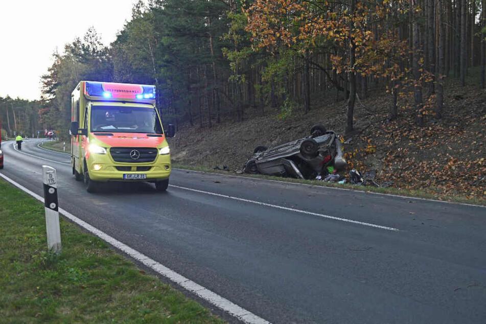 Sowohl Rettungswagen als auch Rettungshubschrauber waren vor Ort.