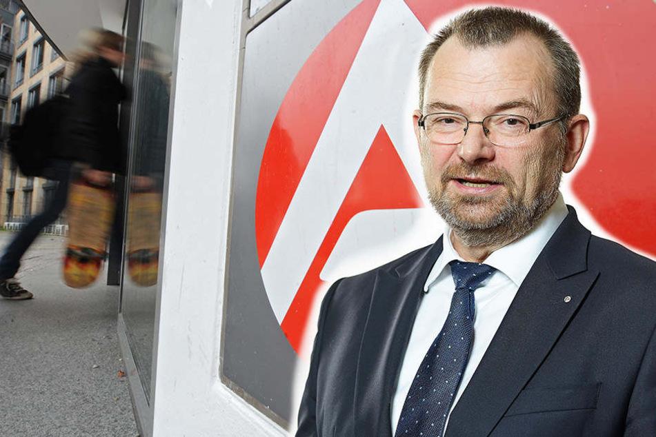 Klaus-Peter Hansen, Chef der Regionaldirektion Sachsen der Bundesagentur für Arbeit