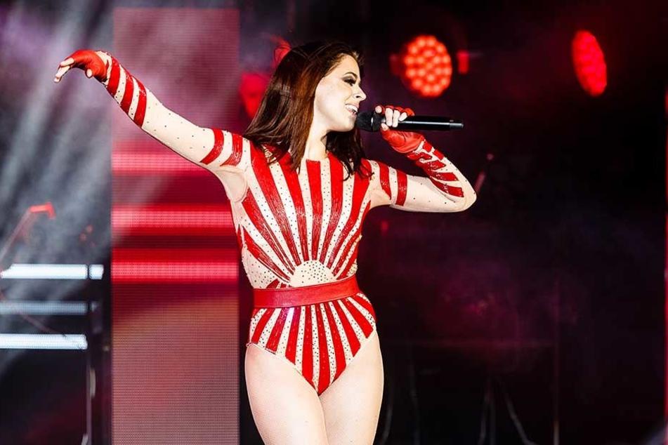 Noch am Freitag legte Vanessa Mai in Hamburg eine große Bühnen-Show hin.