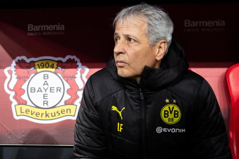 Die zweite Pleite in Folge bringt auch BVB-Coach Lucien Favre wieder in Erklärungsnot.