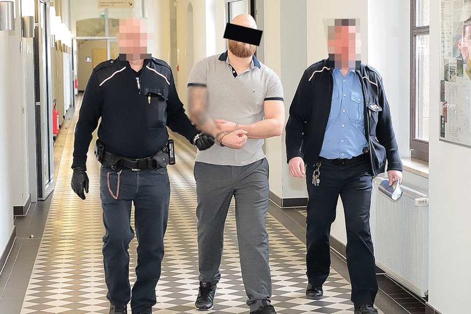 Drogendealer Sebastian R. (31) machte lautstark auf sich aufmerksam, muss jetzt hinter Gitter.