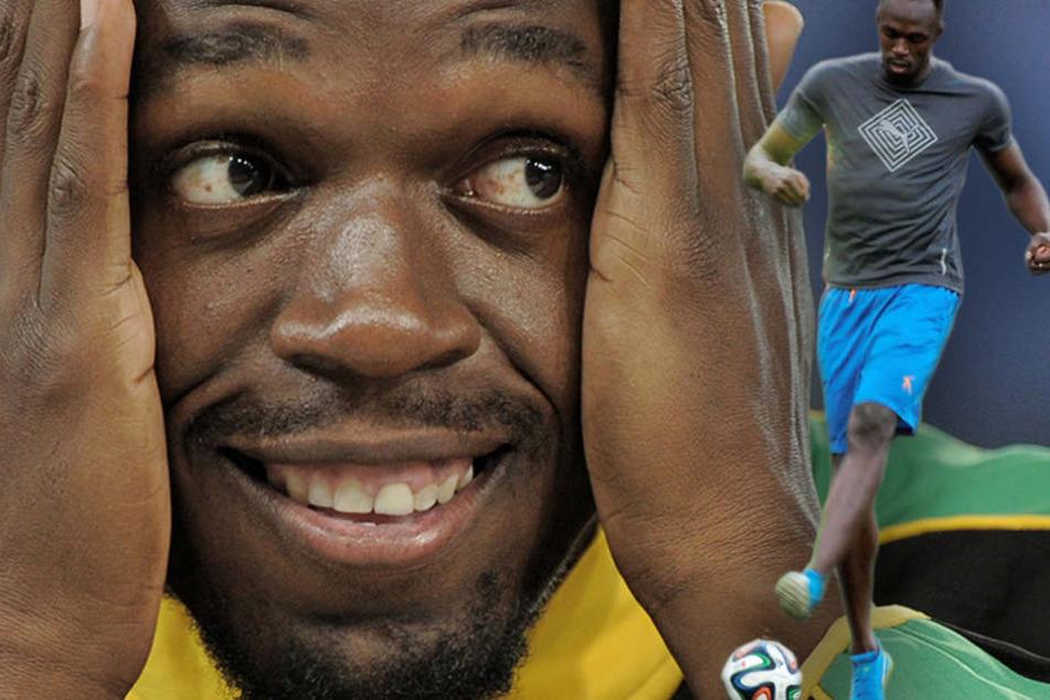 Usain Bolt unterschreibt Vertrag bei Fußballverein