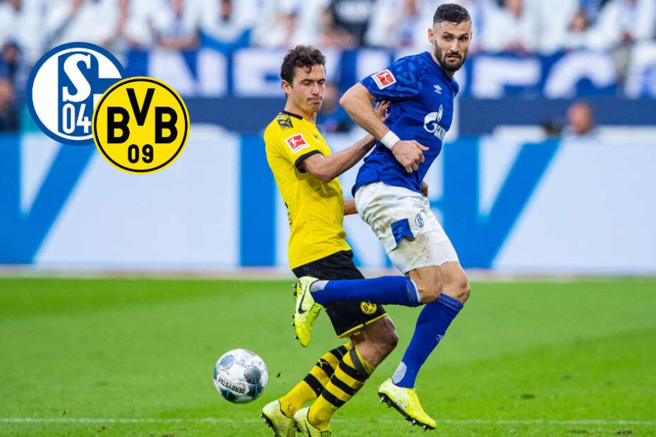 Revierderby: Schwacher BVB, doch Schalke macht nichts draus