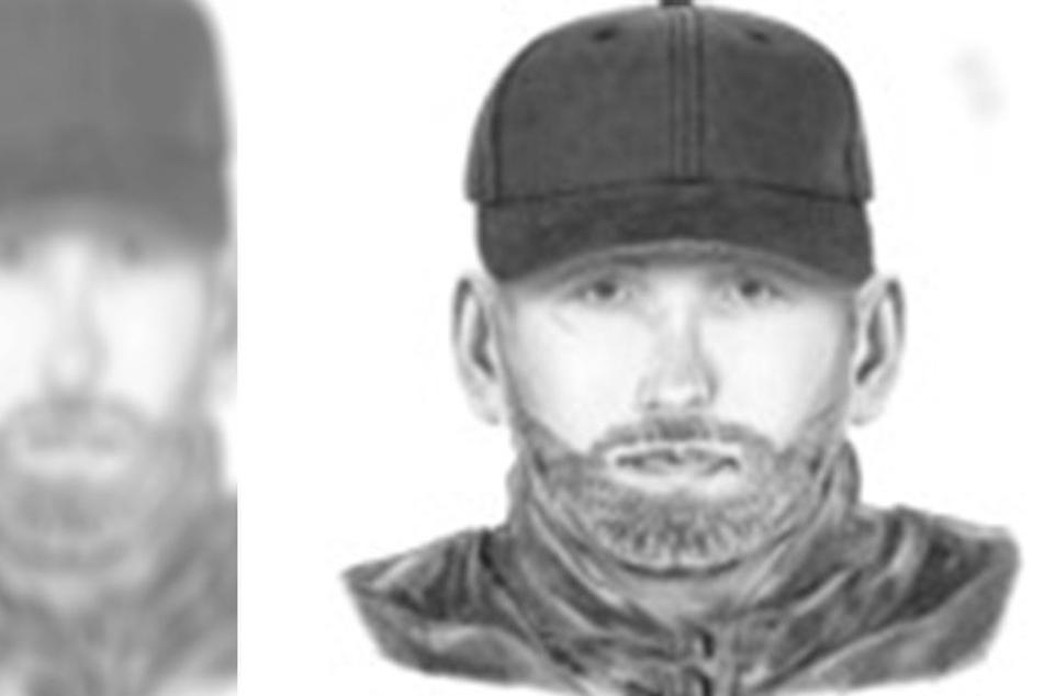 Einer der gesuchten Täter ist zwischen 25 bis 30 Jahre alt und 1,80 bis 1,85 Meter groß. Auffällig ist eine kleine Narbe unterhalb des rechten Auges.