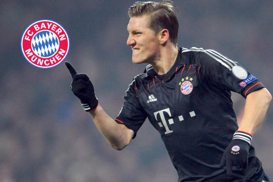 Schweinsteigers letztes Mal für Bayern: Arena im besonderen Glanz