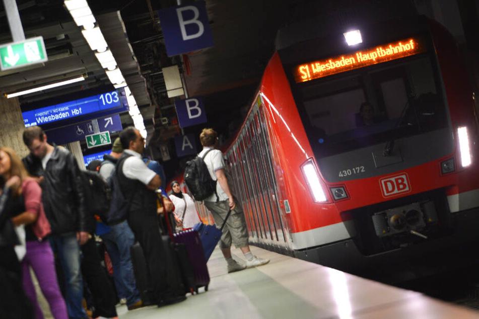 Auch die S-Bahn-Linie S1 (Archivbild) wird von den Sperrungen am Samstag betroffen sein.
