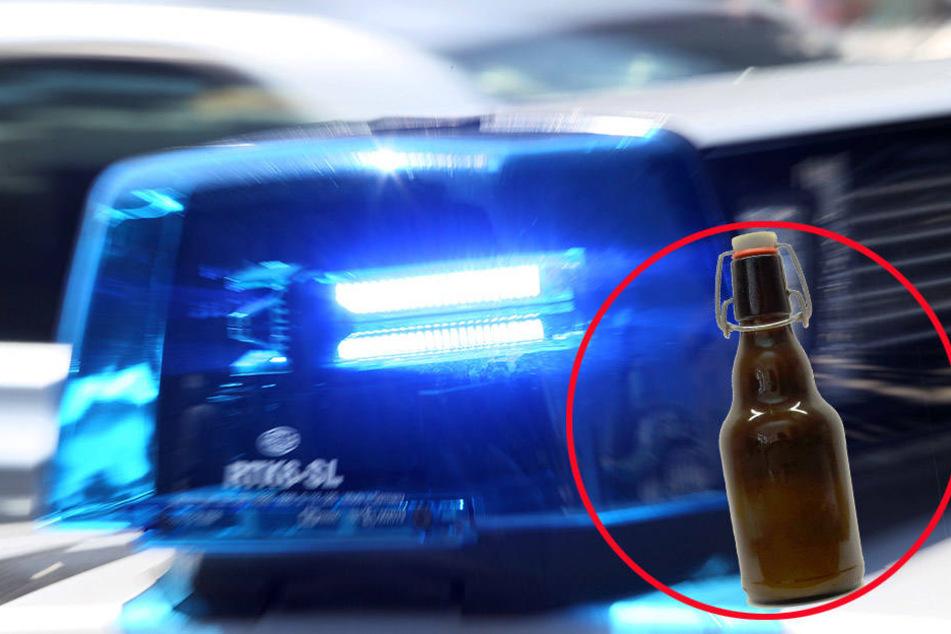 Wer Alkohol trinkt, sollte nicht fahren.