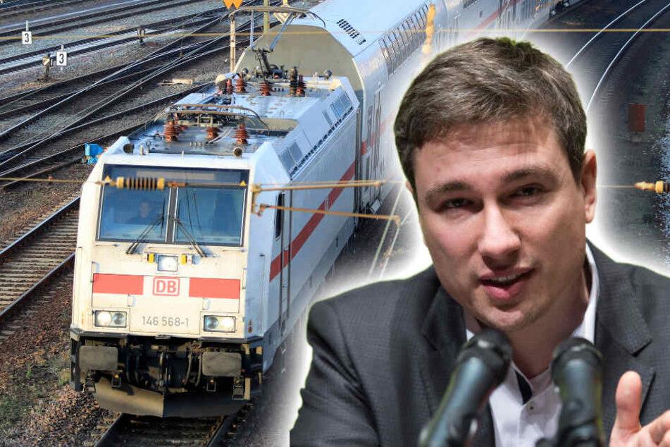 Neuer Ärger um IC-Anschluss für Chemnitz: Angst vor Lärm!