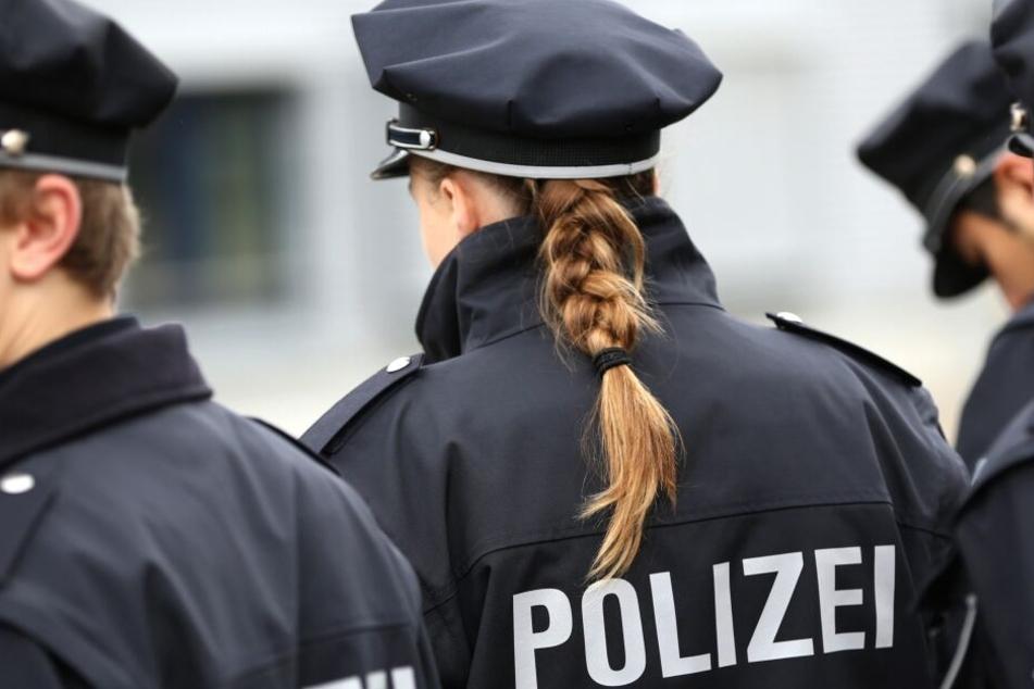 Die Dresdner Polizisten ließen sich das Zeigen des Hitlergrußes nicht gefallen. (Symbolbild)