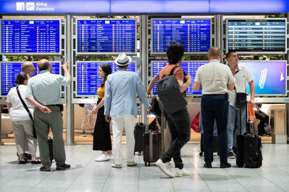 Den kuriosen Fund machten die Beamten am Flughafen in Frankfurt (Symbolbild).