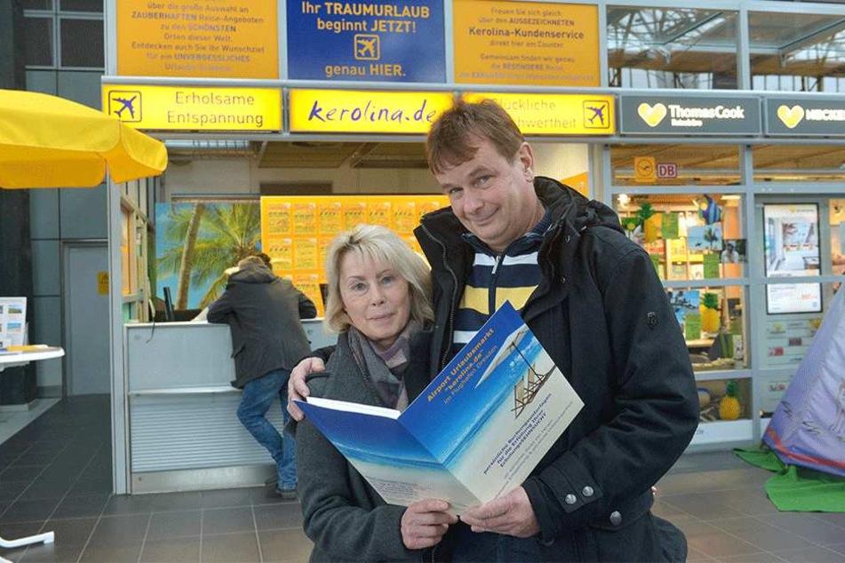 Cornelia Adam (54) und Lutz Volkmer (57).