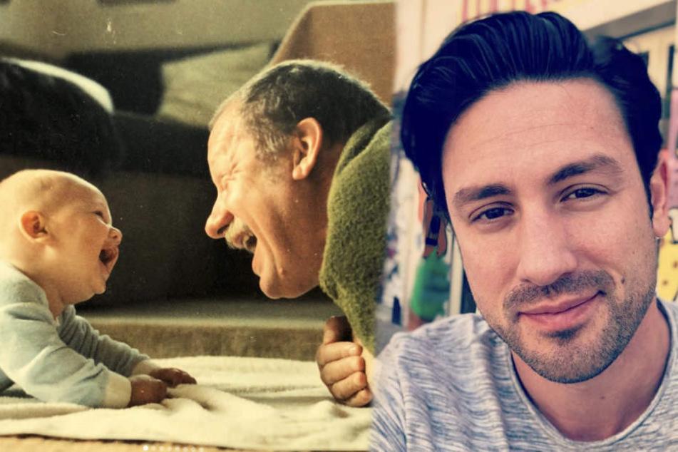 Mit seinem Opa konnte Daniel Völz immer viel lachen.