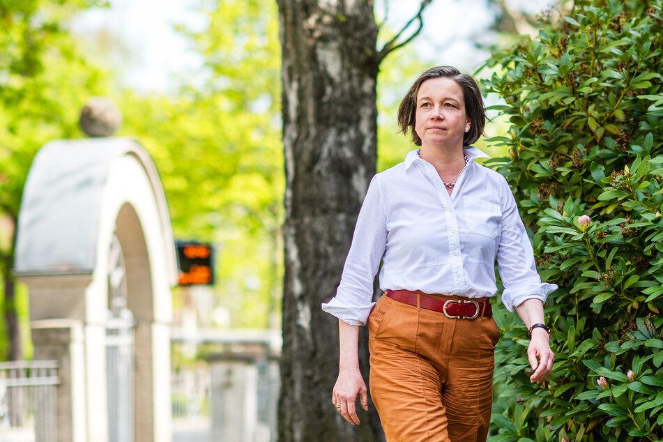 """Immer vorwärts: Die frischgebackene Aufsichtsrätin Almut Patt (52, CDU) plant mit der Kulturhauptstadt GmbH ein """"Kleines Kulturhauptstadtjahr 2022""""."""