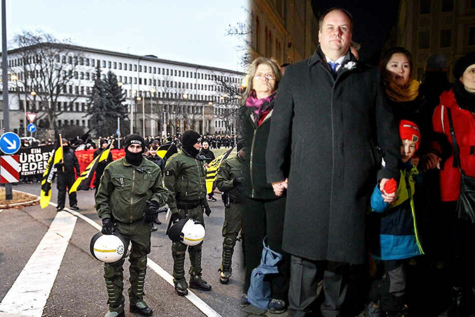Im Zeichen des Friedens: So gedenkt Dresden der Bombennacht