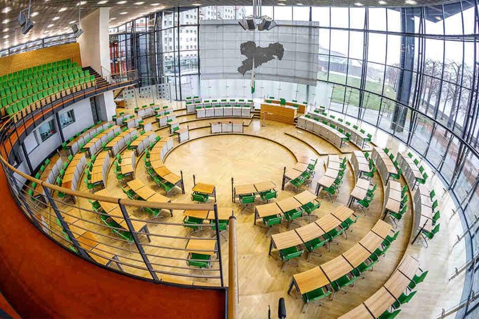 Die künftige Sitzverteilung im Landtag wird sich ändern.
