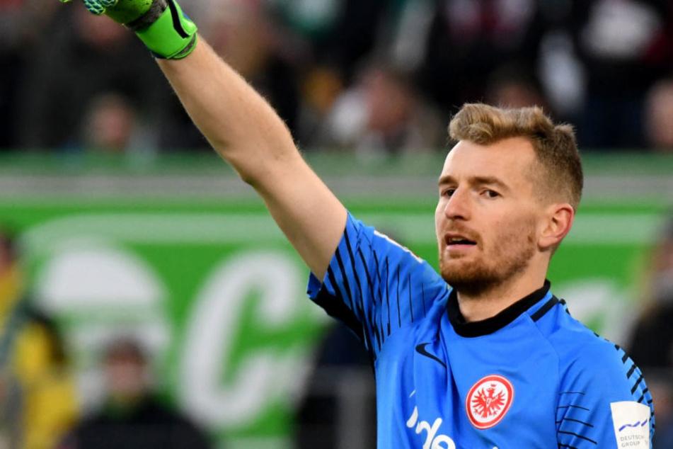 Sicherer Rückhalt: Lukas Hradecky im Kasten der Eintracht.
