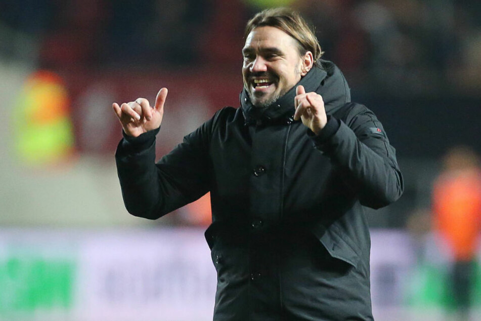 Daniel Farke trainiert seit 2017 den englischen Zweitligisten Norwich City.