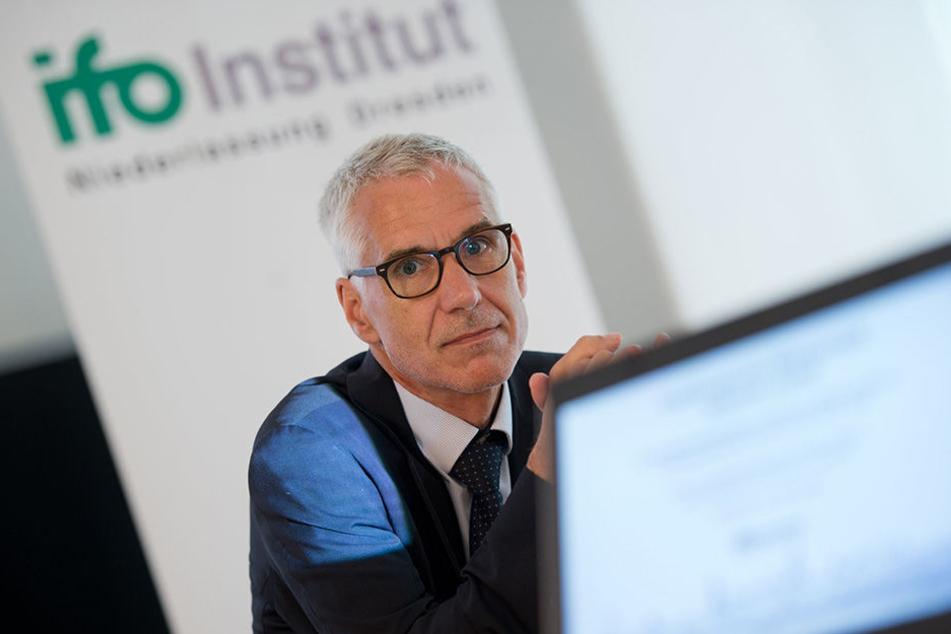 Joachim Ragnitz vom ifo-Institut in Dresden sieht in der Digitalisierung eher eine Chance für Sachsens Wirtschaft.