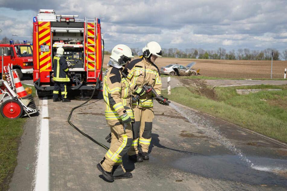 Bei Kleinwelka kam es am Freitagnachmittag zu einem schweren Unfall.