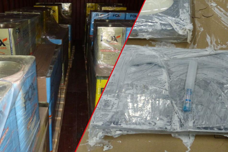 Tonnenweise Kokain! Zoll stellt Rekordmenge im Hamburger Hafen sicher