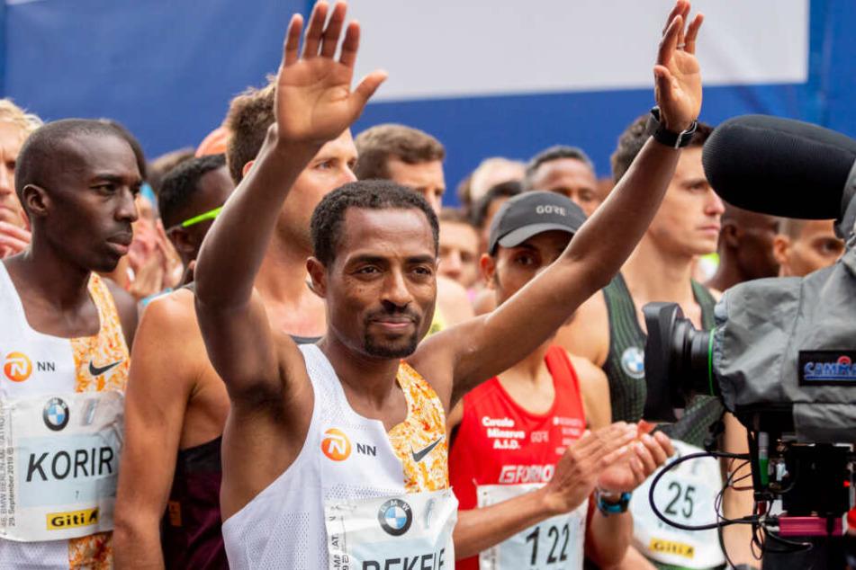 Bekele schrammt bei Berlin-Marathon am Wunder-Weltrekord vorbei