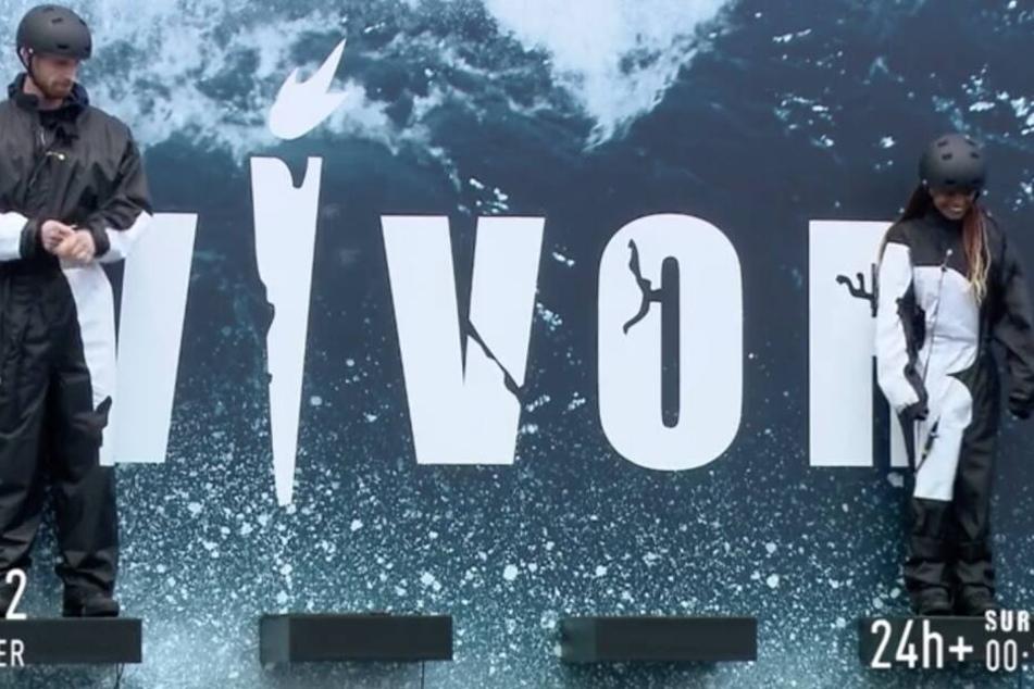 """Die Kandidaten Marc und Solanny standen nach über 24 Stunden als letzte Verbliebene auf dem Podest. Wer zuletzt steht, erhält eine Wildcard für die zweite Staffel von """"Survivor""""."""