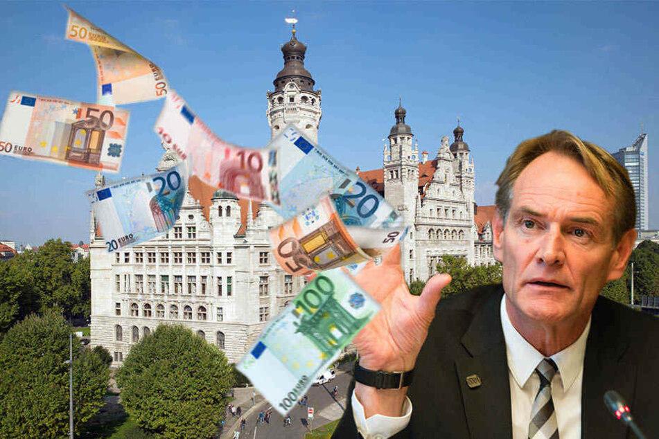 Die SPD gab unter anderem Steuergelder aus für Grußkarten, Restaurantbesuche und Präsente. (Symbolbild)
