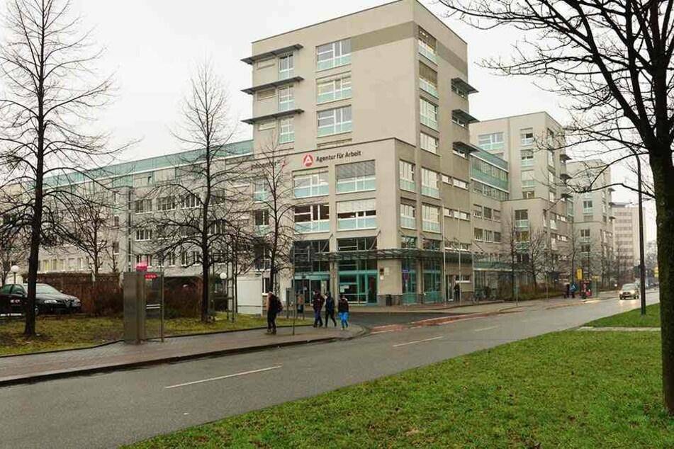 Das Dresdner Jobcenter.