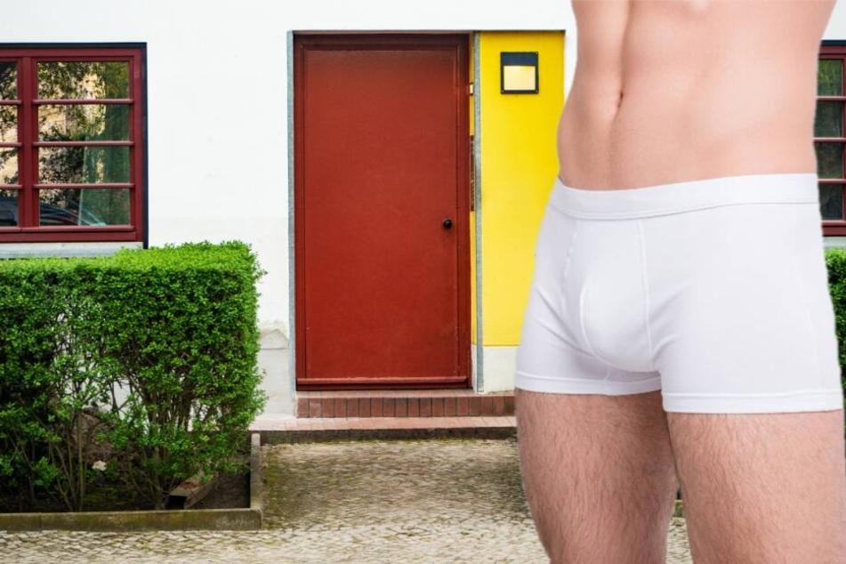 Streit eskaliert: Mann wird in Unterwäsche vor die Tür gesetzt
