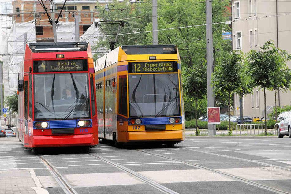 Auf vielen Strecken der Leipziger Verkehrsbetriebe kam es zu Verpätungen und Umleitungen.